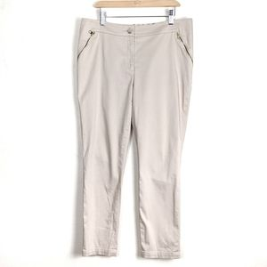 Ted Baker London Detty Zip Pocket Ankle Crop Pants